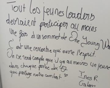 L'Esprit d'Un Monde Jeune (The Spirit of One Young World)