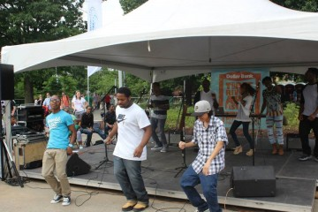 YMCA Westinghouse Lighthouse Project Performance at Three Rivers Arts Festival
