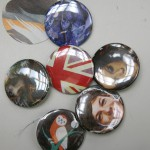 Some of the pins participants made.