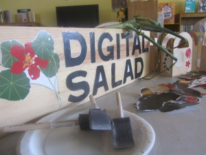 The Digital Salad workstation.