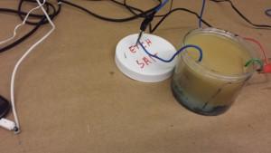 Electrical Etching using Salt Water