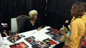 Lieutenant Uhura aka Nichelle Nichols