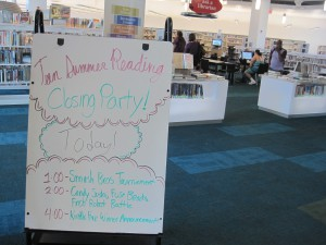 Teen Summer Reading Party