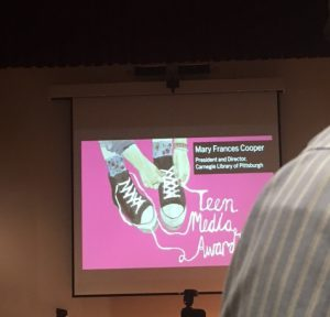 Teen Media Awards at the Carnegie Library of Pittsburgh on August 10th