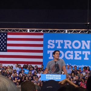 Mark Cuban at the Pittsburgh Rally on July 30th
